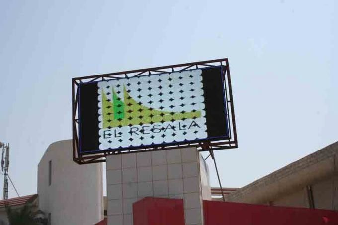 P6 / P10 / P20 3528 SMD LED Video Wall Panels , Outdoor Large Screen Display Solutions